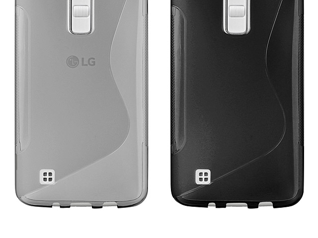 LG K7 Wave Plastic Back Case