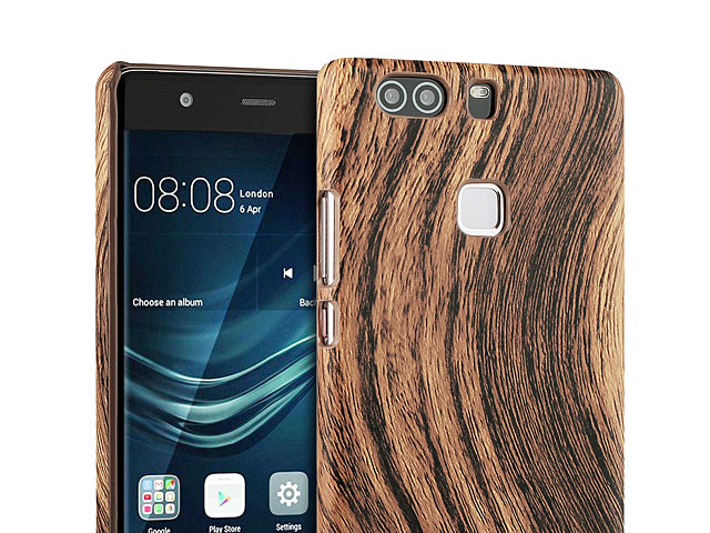 Huawei P9 Plus Woody Patterned Back Case