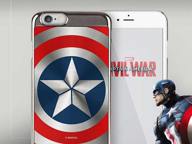 MARVEL Captain America Shield Case for iPhone 6 / 6s
