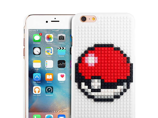 iPhone 6 / 6s DIY Brick Block Back Case