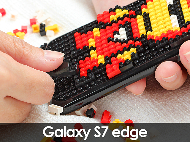 Samsung Galaxy S7 edge Plus DIY Brick Block Back Case