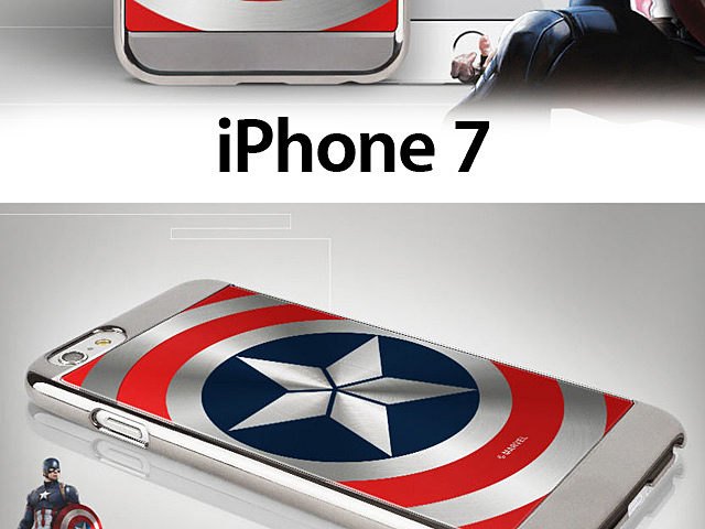 Marvel Captain America Shield Case For Iphone 7