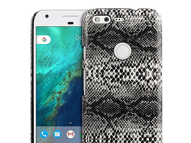 Google Pixel Faux Snake Skin Back Case
