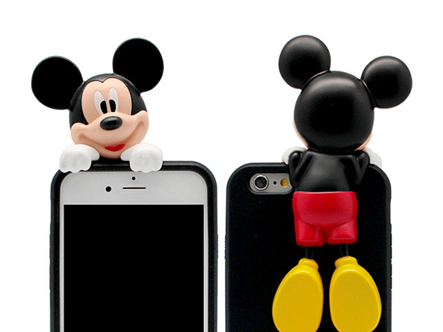 iPhone 7 3D Mickey Mouse Jelly Case