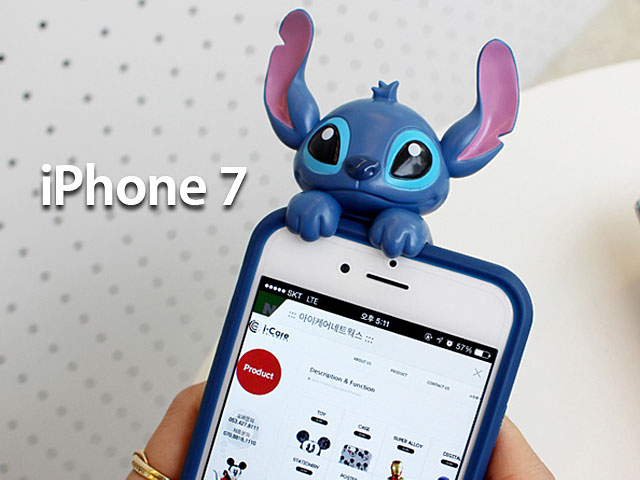 Phone Card Holder >> iPhone 7 3D Stitch Jelly Case