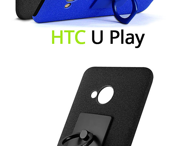Imak Marble Pattern Back Case for HTC U Play