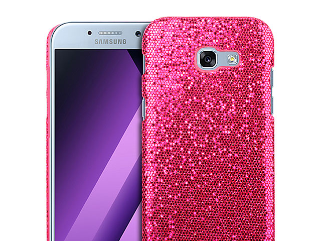 half off a0675 6d3dc Samsung Galaxy A7 (2017) A7200 Glitter Plastic Hard Case