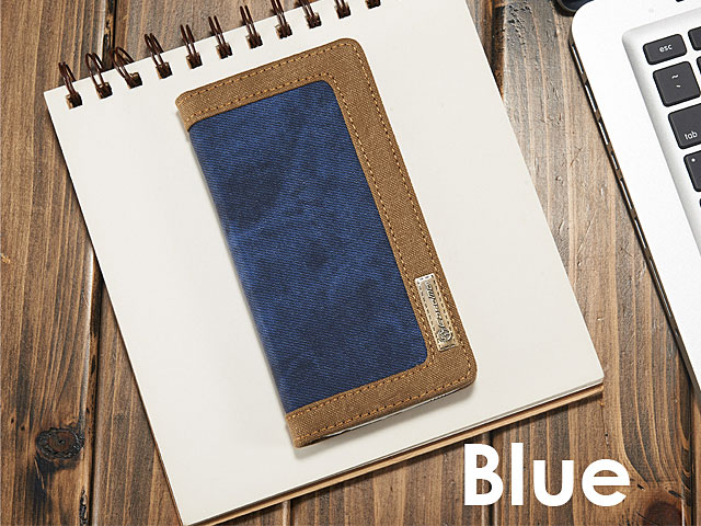 Samsung Galaxy S6 Jeans Leather Wallet Case