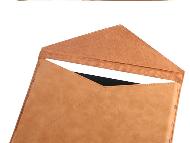 Leather Postcard Pouch for iPad 9.7
