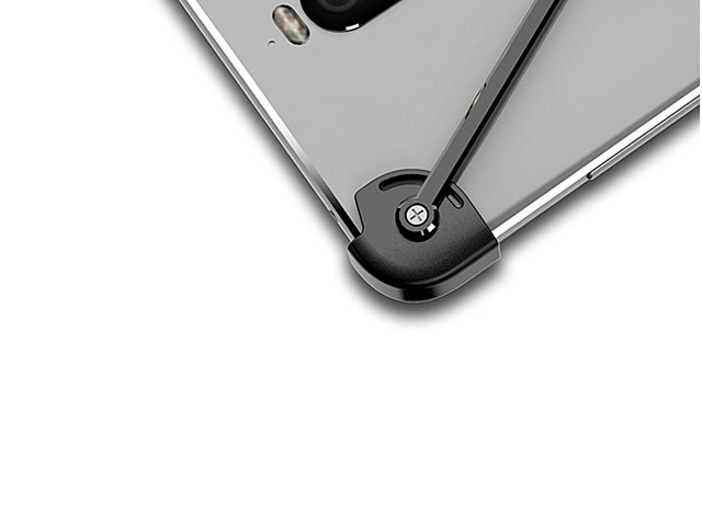 Huawei Mate 9 Pro Metal X Bumper Case with Finger Ring