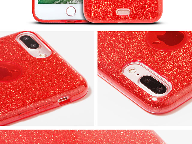 iPhone 7 Plus Glitter TPU Soft Case