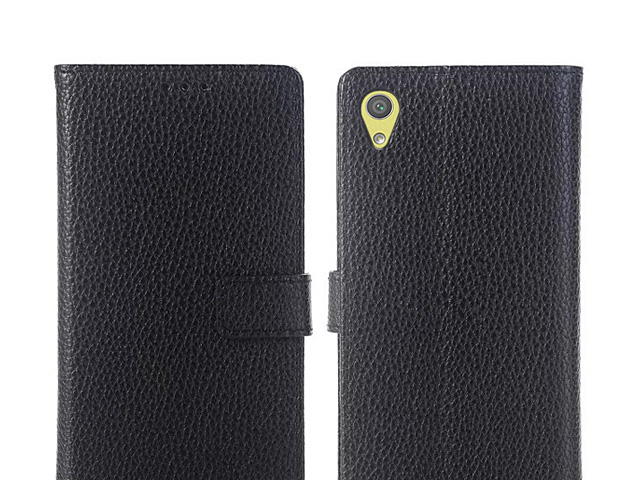 Sony Xperia XA Ultra Leather Flip Card Case