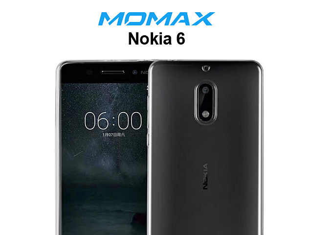 Momax Ultra Thin Clear Hard Case for Nokia 6