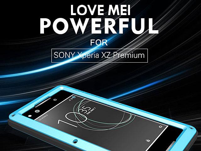best authentic e1024 e738e LOVE MEI Sony Xperia XZ Premium Powerful Bumper Case
