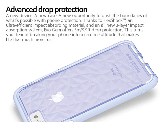 timeless design 0eef1 03e00 Tech21 Evo Gem Case for iPhone 7 Plus