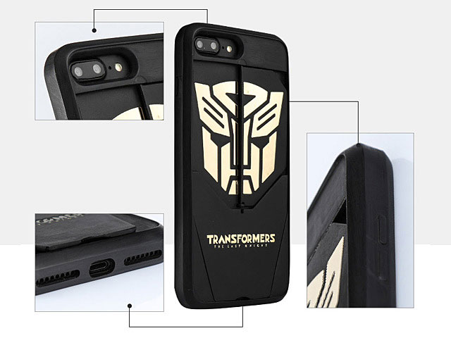 iPhone 7 Plus Transformers - Autobots Decepticons Folding Bracket Case