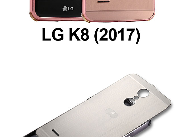 LG K8 (2017) Metallic Bumper Back Case