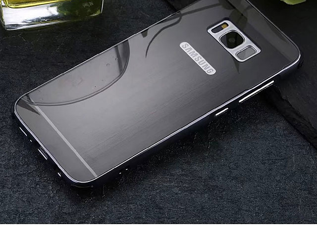 Samsung Galaxy S8 Metallic Bumper Back Case