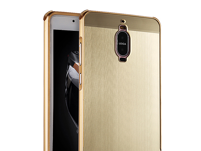 Huawei Mate 9 Pro Metallic Bumper Back Case