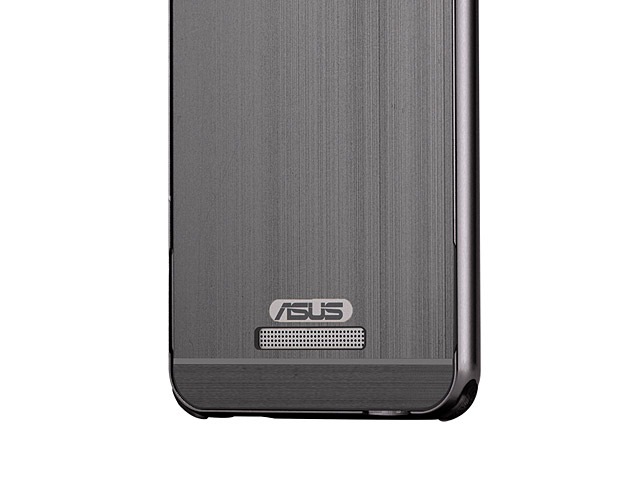 asus zenfone 3 max zc520tl metallic bumper back case. Black Bedroom Furniture Sets. Home Design Ideas