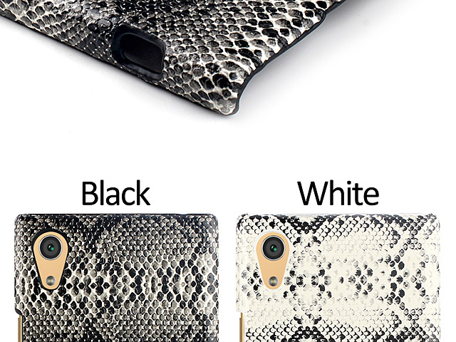 Sony Xperia XA1 Ultra Faux Snake Skin Back Case