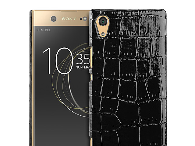 Sony Xperia XA1 Ultra Crocodile Leather Back Case