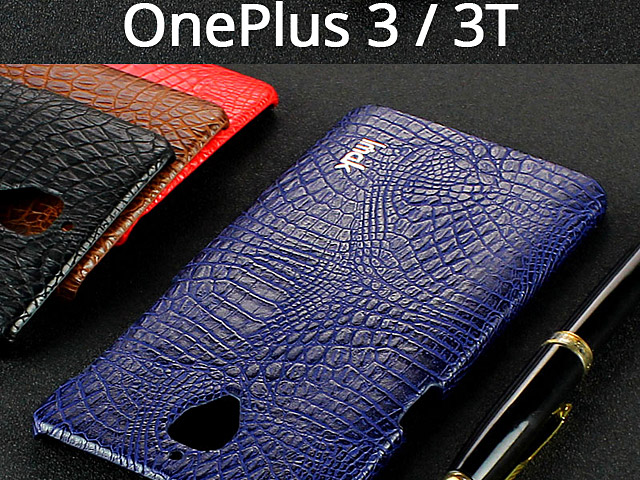 Imak Crocodile Leather Back Case for OnePlus 3 / 3T