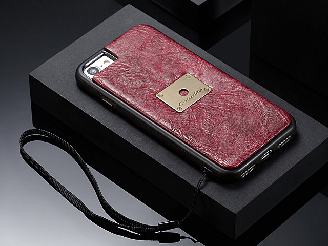 iPhone 7 Coarse Crack Wallet Flip Leather Case