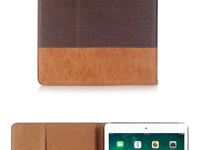 iPad Pro 12.9 (2017) with A10X Fusion Two-Tone Leather Flip Case
