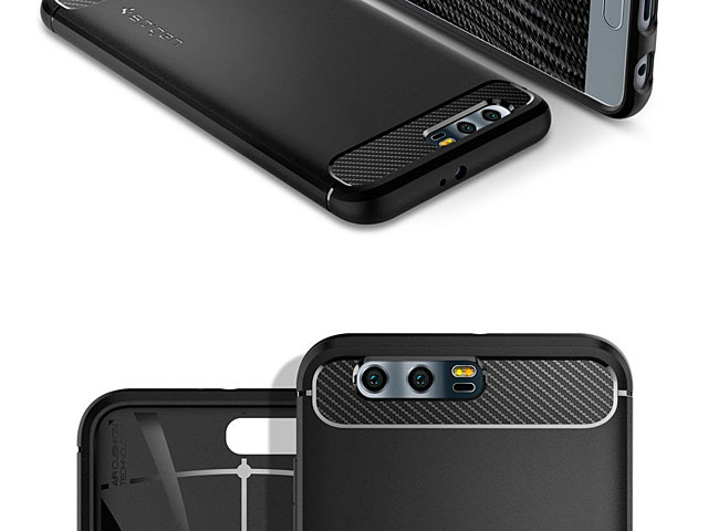 new product 5e5ae 2b03d Spigen Rugged Armor Case for Huawei Honor 9