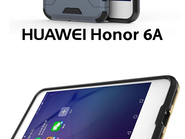 Huawei Honor 6a Iron Armor Plastic Case