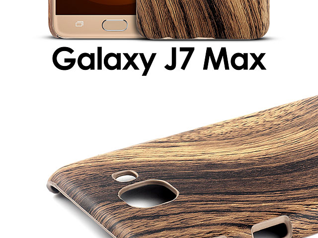 Samsung Galaxy J7 Max Woody Patterned Back Case