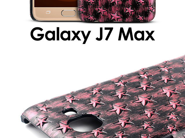 Samsung Galaxy J7 Max Embossed Star Back Case