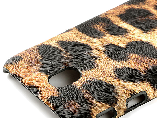 Samsung Galaxy J3 (2017) J3300 Embossed Leopard Stripe Back Case