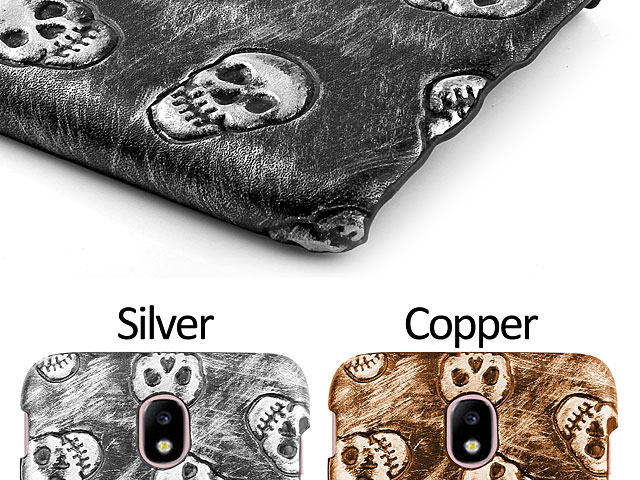 Samsung Galaxy J3 (2017) J3300 Embossed Skull Back Case