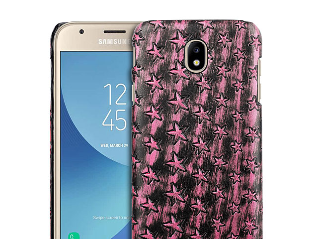 Samsung Galaxy J3 (2017) J3300 Embossed Star Back Case