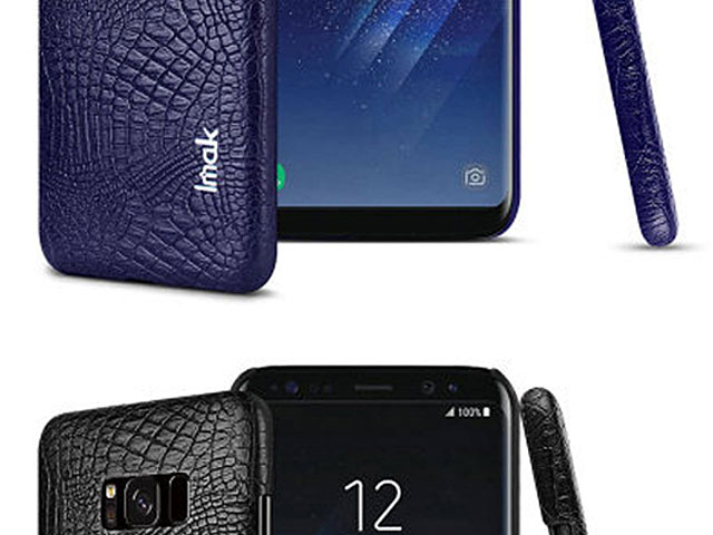 Imak Crocodile Leather Back Case for Samsung Galaxy S8