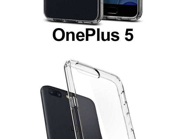 sale retailer 2f724 c4ec9 Spigen Ultra Hybrid Case for OnePlus 5