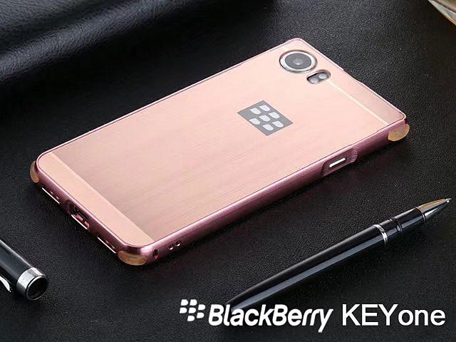 premium selection 6bc34 db068 BlackBerry KEYone Metallic Bumper Back Case