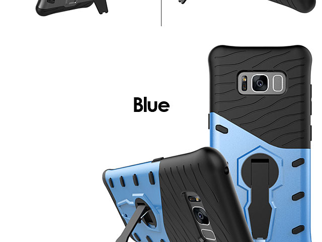 Samsung Galaxy S8 Armor Case with Stand