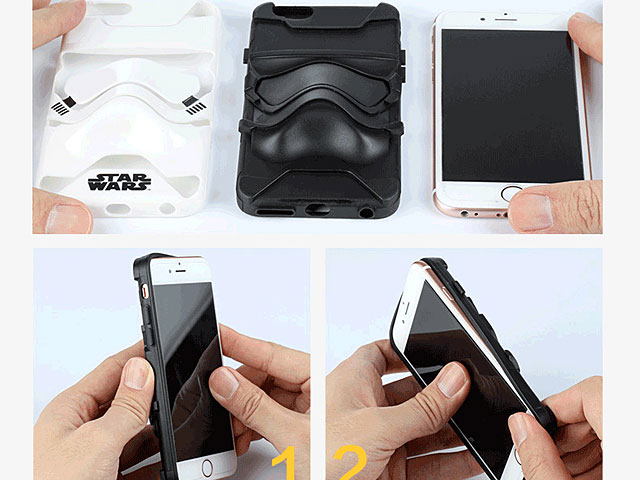 iPhone 8 Plus Star Wars 3D Stormtrooper Case