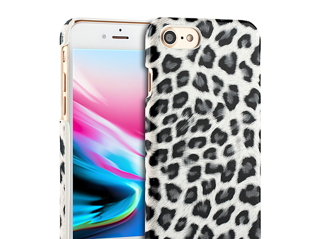 iPhone 8 Leopard Stripe Back Case