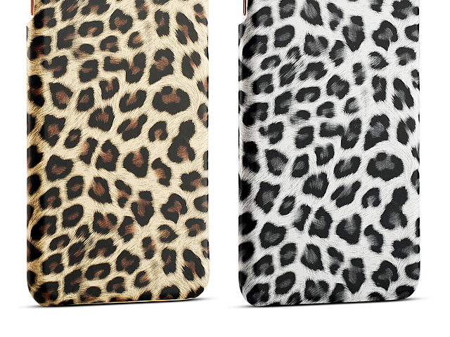iPhone 8 Plus Leopard Stripe Back Case