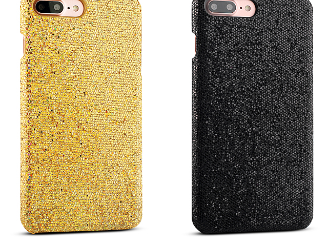 iPhone 8 Plus Glitter Plastic Hard Case