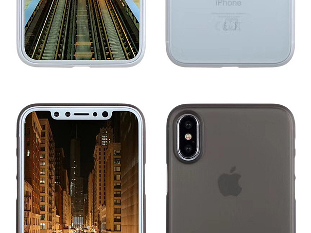 Momax 0.4mm Membrane Case for iPhone X