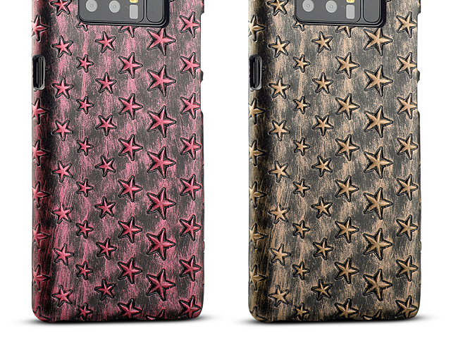 Samsung Galaxy Note8 Embossed Star Back Case