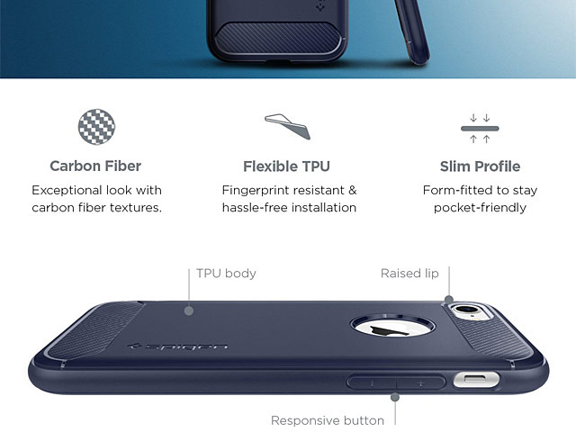 Spigen Rugged Armor Case for iPhone 7 / 8