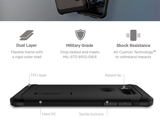 Spigen Tough Armor Case for LG V30