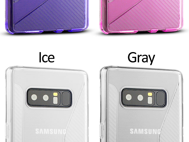 Samsung Galaxy Note8 Wave Plastic Back Case