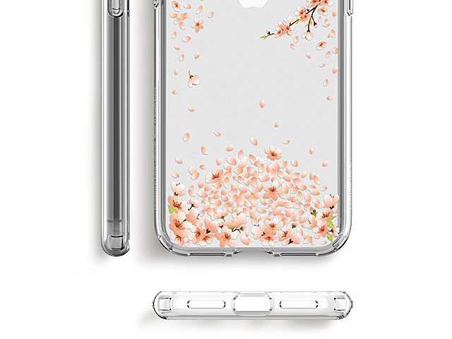 Spigen Liquid Crystal Blossom Soft Case for iPhone X